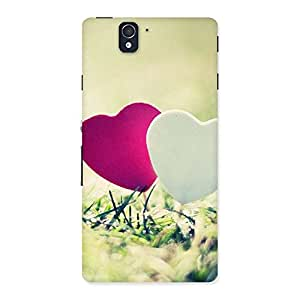 Gorgeous Couple Heart Back Case Cover for Sony Xperia Z