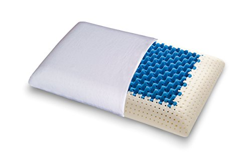 Cojín blue2air (mymemory Memory Foam termosensibles altamente transpirable - 100% Made in Italy - Funda Algodón Natural