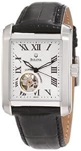 Bulova Men's 96A127 BVA-Series 160 Leather Strap Watch