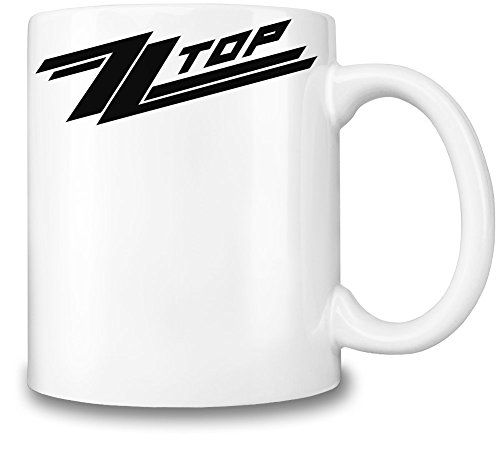 ZZ Top Logo Tazza Coffee Mug Ceramic Coffee Tea Beverage Kitchen Mugs By Genuine Fan Merchandise