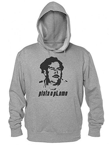 pablo-escobar-plata-o-plomo-stencil-mens-hooded-sweatshirt-large