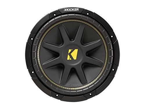 Kicker C12 12-Inch 400W Dual 4-Ohm Comp Series Subwoofer