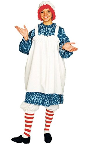 Raggedy Ann Costume - Adult Costume