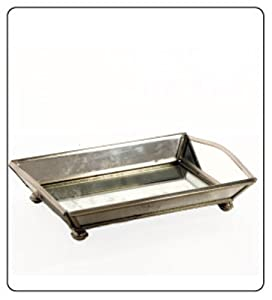Bathroom Accessories Sets Vanity Tray Mirrored For Perfume