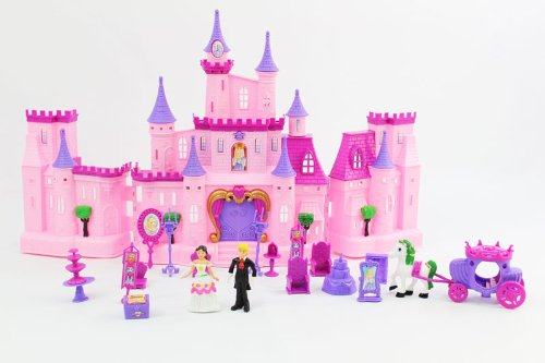 My Dream Castle Light Up and Music Playset Princess Witchery Playset Doll House Childrens Doll House Castle (Doll House Playsets compare prices)