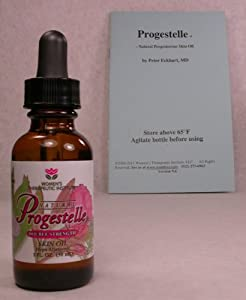 Progestelle Progesterone Oil Purer Than Progesterone Cream, NO Preservatives, First Timers get 1 FREE BOTTLE when Buying! Bioidentical, Natural, Topical - NO Fragrance, NO Emulsifiers AND BOOKLET -First Timers- 1oz 800 mg/oz DOUBLE STRENGTH