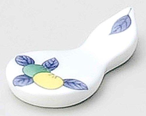 Tachibana 6.2cm Ensemble de 5 Chopstick Rests White porcelain Originale Japonaise