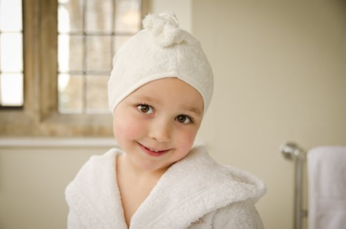 Cuddledry Cuddletwist Hair Towel Plain Edge - 1