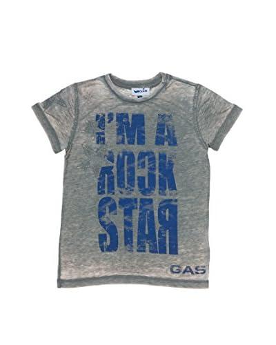 Gas Camiseta Manga Corta Gris