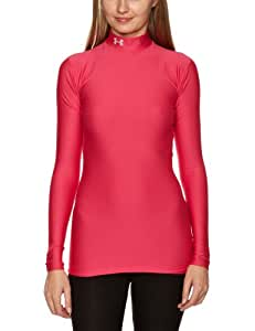 Under Armour   CG Compression Mock Top de compression femme Rose Gloss XS