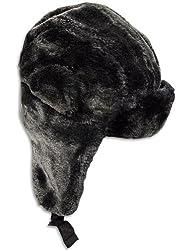 Winter Warm-Up - Ladies Trapper Hat, Black 28521-onesize