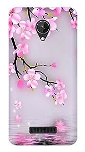 Wow Premium Design Back Cover Case For Micromax Canvas Spark
