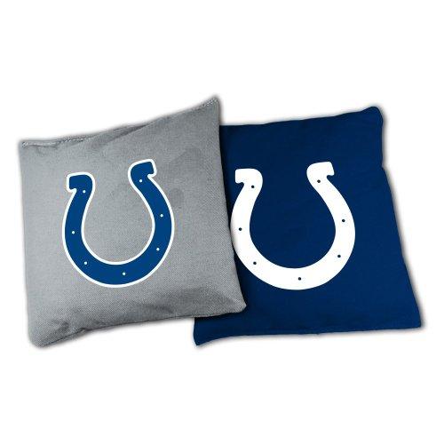 Wild Sports BB-XL-NFL113 NFL Indianapolis Colts Official Cornhole Bean Bag Sets