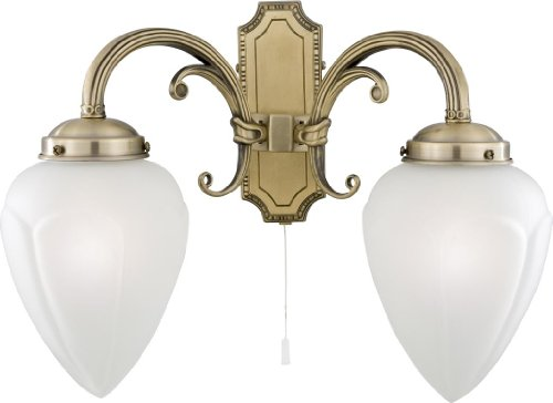 Searchlight Regency 1992-2AB Mur Traditionnel Feux Double