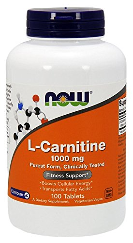 NOW Foods L- Carnitine Tartrate