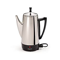 - 12-Cup Stainless Steel Coffee Maker by Presto made by PRESTO
