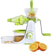 Floraware Advance Fruit & Vegetable Juicer Mixer Grinder With Waste Collector, Green (Better Preformance)