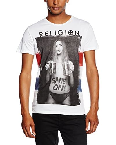 Religion T-Shirt weiß