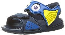 adidas Performance Disney Akwah 9 I Water Shoe,Mineral Blue/Shock Blue/Bright Yellow,8 M US Toddler
