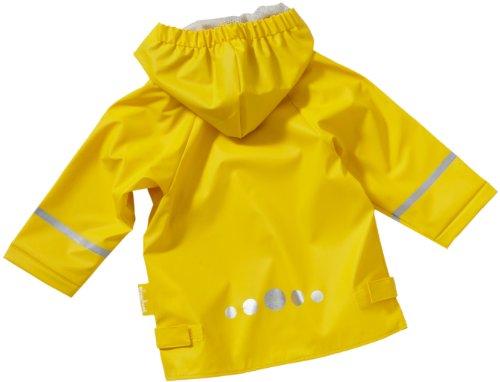 Playshoes Unisex - Kinder Regenmantel 408638, Gr. 128, Gelb (12 gelb) -