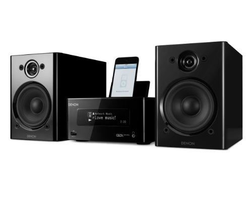 <p>Denon Ceol Piccolo Network Music System view larger</p>
