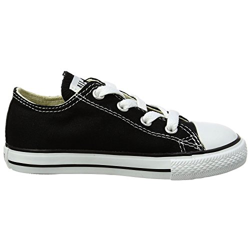 Converse Chuck Taylor All Star OX Shoe - Kids' Black, 3.0