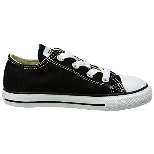 Converse Boys' Youths Chuck Taylor Allstar Ox Black - 1.5 YTH