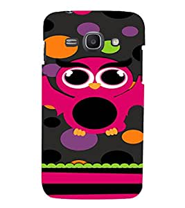 PrintVisa Cute Girly Owl Design 3D Hard Polycarbonate Designer Back Case Cover for Samsung Galaxy Ace 3