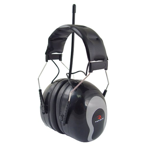 Radians Amfm31 Sound Fx Am/Fm Radio Earmuff - Black