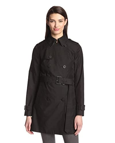 Diane von Furstenberg Women's Sandrine Trench with Back Pleats