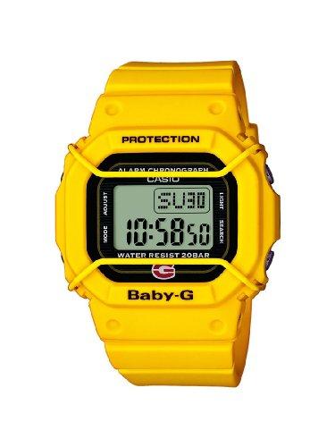 Casio Baby-G BGD-500-9ER - Reloj para mujeres, correa de resina color amarillo