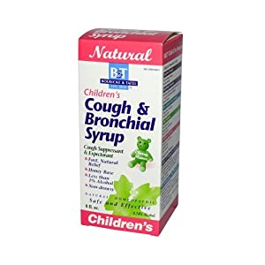 Boericke & Tafel Children's Cough & Bronchial Syrup -- 8 fl