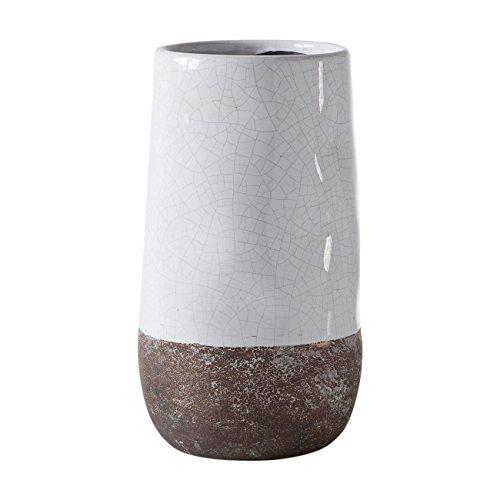 torre-tagus-902109a-corsica-ceramic-crackle-2-tone-vase-white