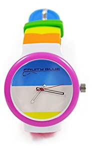 BROGAN SILICONE UNISEX JELLY WATCHES FUNKY COLOURS 2014 FASHION WATERPROOF