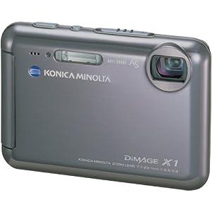 Konica Minolta Dimage X1 8MP Digital Camera with 3x Anti Shake Zoom (Cradle Included)