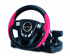 Genius Speed Wheel 6 MT with 11-Inch Wheel Compatible with PC/PS3 and Manual Transmission and Two-Hand Levers (SPEED WHEEL 6 MT)