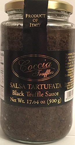 Coccia Black Truffle Sauce 17.64 oz (500 g) (Salsa Tartufata Truffle Sauce compare prices)