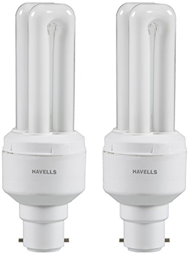 Havells Retrofit Normal 11 Watt CFL Bulb(Warm White,Pack of 2)