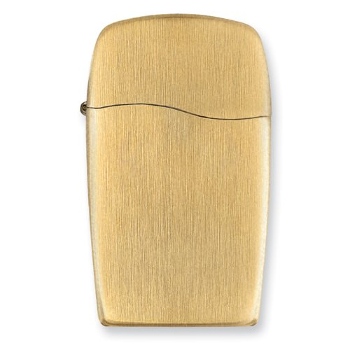 Zippo Vertical Gold Butane Gas Lighter
