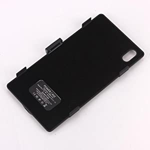Geekbuying 3200mAh Portable Power Pack Backup Battery Charger Case for Sony Xperia Z1 L39h (Black)