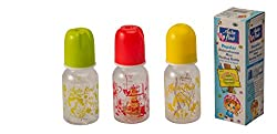 Baby Bottle Polycarbonate Pack of 3 MultiColour - BB11