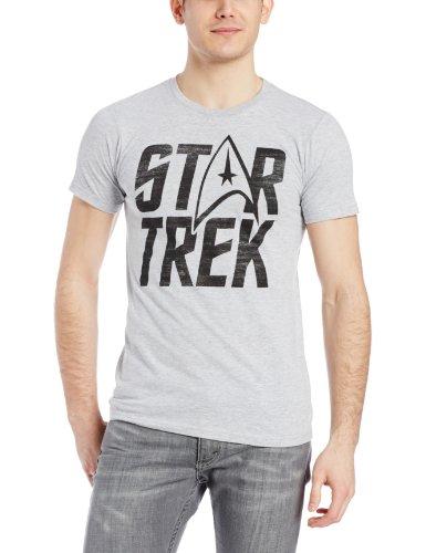 Hybrid Men's Star Trek Logo T-Shirt