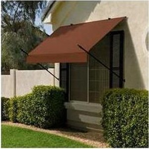 Sunsational 3020775 4 ft. Designer Awning - Terracotta