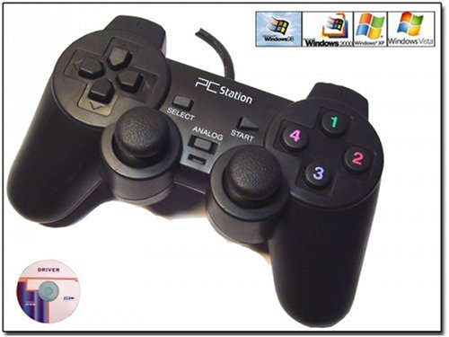 Manette PC Dualshock Joypad USB
