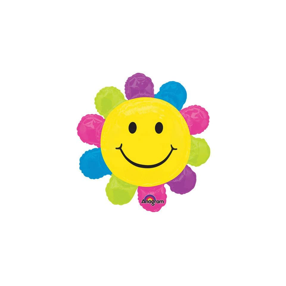 Happy Face Daisy Super Shape (1 per package) Toys & Games