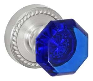 Fusion Hardware V-23-Z8-0-BRN Full Set Victorian Cobalt Privacy Knob