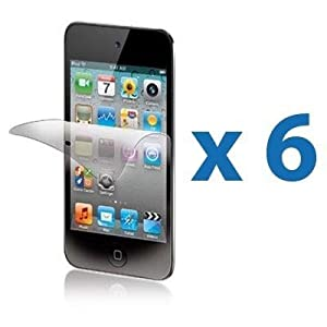 HK 6X Anti Glare Matte Screen LCD Cover Protector Guard Film for ipod Touch 4 4g 4th Gen