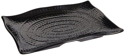 Carlisle 4452003 Terra Melamine Rectangular Textured Platter, 13.5 x 9.25 x 1.5