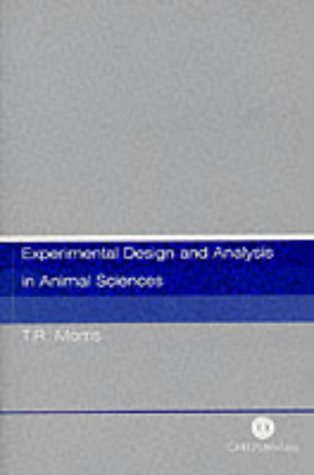 Experimental Design and Analysis in Animal Sciences (Cabi)