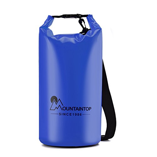 Mountaintop Waterproof Dry Bag Floating Dry Gear Bags for Boating,
